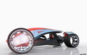 Автомобиль будущегосделаны Nike