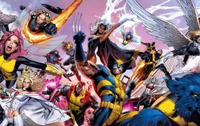 Люди Икс все герои