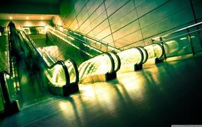 escalators, motion, industrial machines