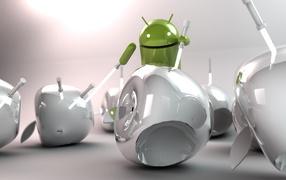 андроид, свет, меч