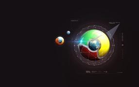 Firefox и Google chrome