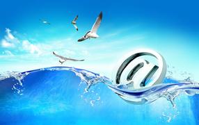 Знак почты интернет