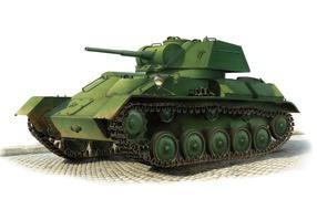 танк, т-80, техника, броня, рисунок