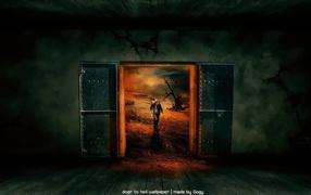 Дверь в заставки