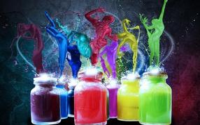 Fantasy paints