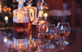 drink, stemware, booze, table, stemware