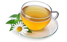 tea, cup, flower