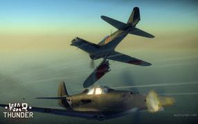 War Thunder истребитель потерял крыло