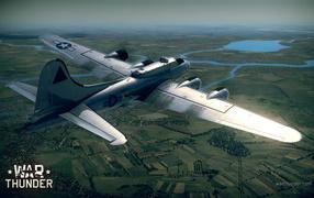 War Thunder самолет на миссии
