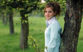 Emma Watson in nature