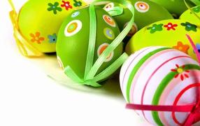 easter eggs, Easter, joyful holiday