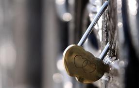 Hearts on the lock