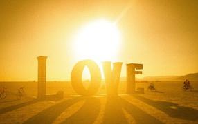 Field, love shadow, letters, sun, Summertime, July