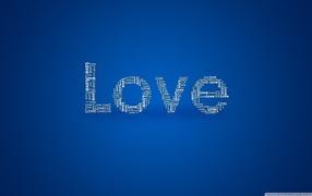 синий фон, слова, красивое оформление