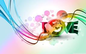 rainbow, colorful love, feeling