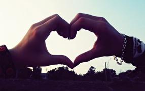 always together, symbol of love, heart