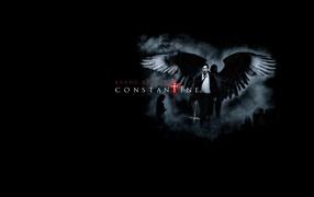 фильм, парень, артист, крылья, Черный фон