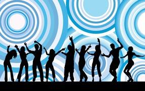 musik, Dance, circle