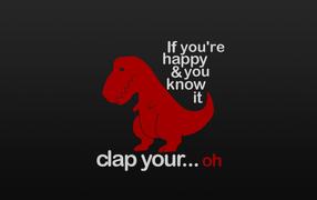 Tyrannosaurus Rex, dinosaurs, funny, humor, text