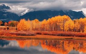 Краски осени в долине