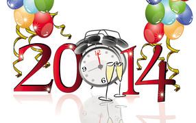 Праздничная картинка, Новый Год 2014