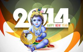 Новый год 2014, Хинду