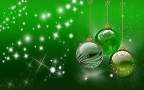 Очень зеленый Новый год