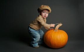 he boy at the great pumpkin