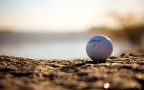 White ball for golf
