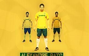 Алешандре Пато, бразильский футболист, игрок, нападающий