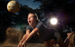 sport, ball, sand, shine, Fitness
