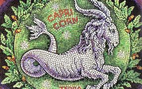 Capricorn, mosaic