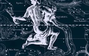 Star chart, Aquarius