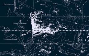 Star chart, Aries