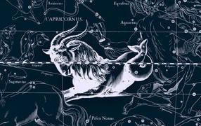 Star chart, Capricorn