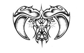 Taurus on a white background