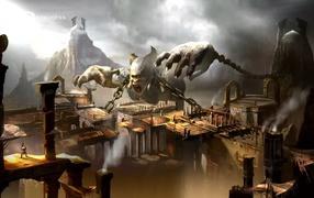 God of War: Ascension: циклоп