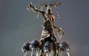 The Witcher 3: Wild Hunt: хозяин волков