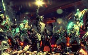 Warframe: покончить пришельца мутанта еретика