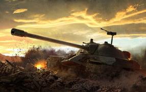 World of Tanks: Советский тяжелый танк ИС-7