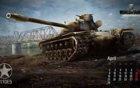World of Tanks: американский танк T110E5