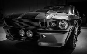 Классический Ford mustang shelby GT500