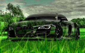 Роскошный Audi R8