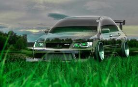 Спортивный Mitsubishi lancer evolution