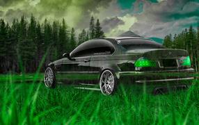 Прозрачный BMW