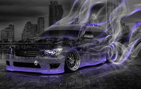Toyota лучах энергии