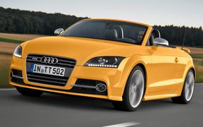 Автомобиль марки Audi модели TT 2014 года