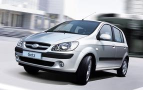 Новая машина Hyundai Getz