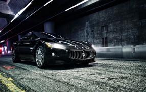 Design of the car Maserati Ghibli