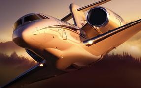 Самолет гражданской авиации